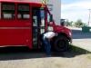 rot und Bus...