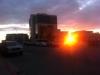 kurz vorm Sonnenuntergang...wenige Minuten vor Mitternacht