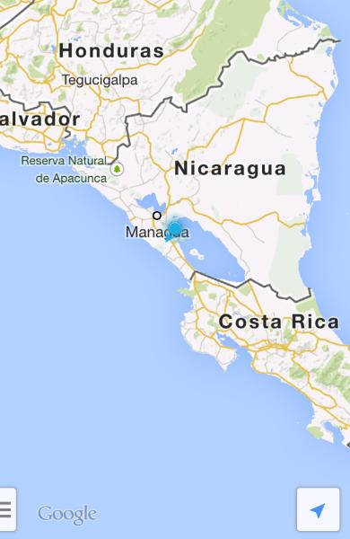 ...sind wir immer noch in Nicaragua...
