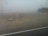 Sandsturm in der schwarzen Gobi