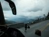 auf der Panamericana in den Anden Kolumbiens Richtung Medellin