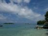 Bootsausflug zu den Islas del Rosario  in der Karibik in der Nähe von Cartagena