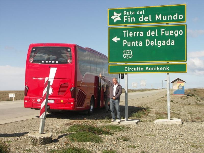 Auf dem Weg nach Ushuaia