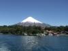 Vulcano Osorno vom Lago Todo los Santos aus gesehen