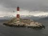 unser südlichster Punkt, der Faro Les Eclaireurs