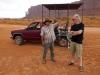 Mathew und Reiseleiter Uli im Monument Valley