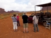 Die Gruppe im Monument Valley