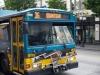 Radtransport Seattle - ohne Rad einfach hochgeklappt