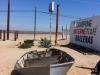 Boot in der Wüste...vor Marios Tür