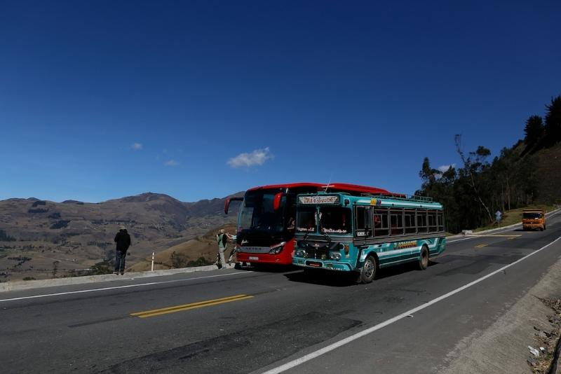 Auf dem Weg nach Riobamba