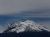 Auf dem Weg nach Papallacta fahren wir am Vulkan Antisana (5758 m) vorbei.