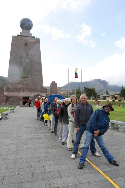 Grüße vom Äquator