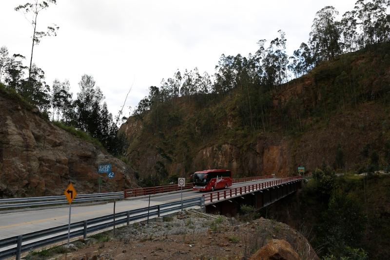 Auf dem Weg von Cuenca nach Loja (Ecuador)
