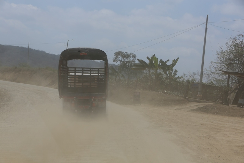Die Letzten Kilometer in Ecuador
