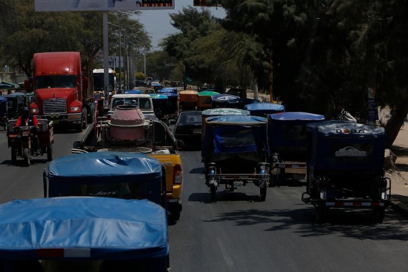 Fahrt nach Chiclayo / Chaos