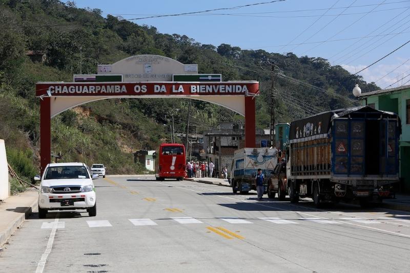 Kurzer Stop in Chaguarpamba (Ecuador) - auf dem Weg nach Peru.