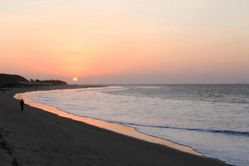 Sonnenuntergang in Punta Sal (Peru)
