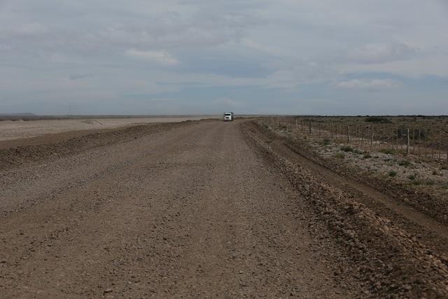 Auf dem Weg nach Perito Moreno