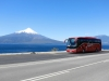 Bus und Vulkan