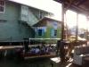 Mit solchen Wassertaxis geht es auf die Isla Colón und ins Hotel