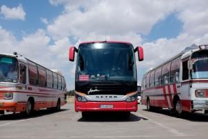 Busparkplatz in Ghom AR