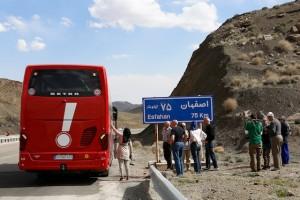 auf dem Weg nach Isfahan AR